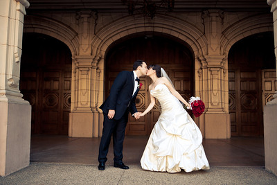 Christine & Alex | The Prado at Balboa Park Wedding Photos